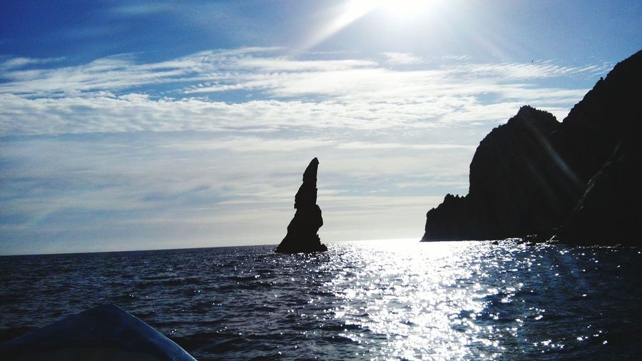 Cabo San Lucas Rock Formations My Place My Hometown Beautiful ♥ Water Reflections Shine Nature