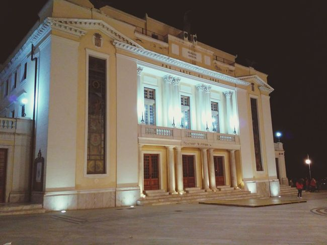 teatro tosti Architecture History Built Structure Night Arts Culture And Entertainment Illuminated Travel Destinations