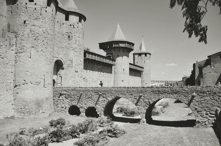 The Carcassone's castle Hanging Out Architecture Traveling Enjoying The View Let's Do It Chic! Shades Of Grey From My Point Of View Landscape_photography Open Edit Castle