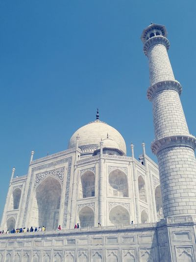 Taj Mahal Politics And Government Sky