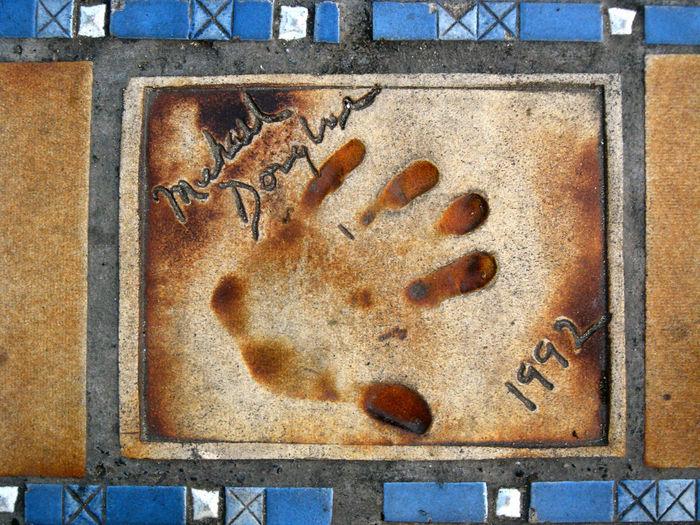 Michael Douglas 1992 Film Star Film MOVIE Movie Star Palm D'or Red Carpet France Cannes Star Boulevard Michael Douglas