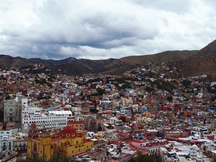 Panoramic view from the pipila in Guanajuato Mexico Guanajuato Traveling Travel Photography City View Colors Buildings