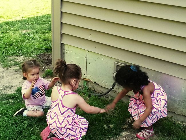 The Moment - 2015 EyeEm Awards Younger Generation Little Cousins Pretty Girls My Babies ❤  Family Playing