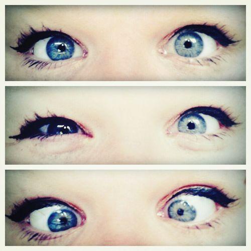 dem eyes Hello World
