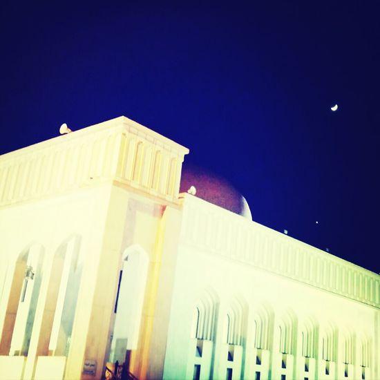 Moon Mosque Sightseeing Qatar