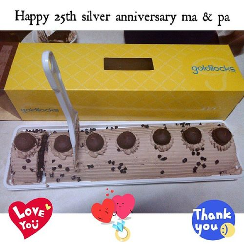 Happy25thanniversary Má På Whatasilver Goldilocks Unsaynaasagoldilock Lamidaw Thankyoulordforeverything Moreyearstocome Instapic Igers Instadaily 82213