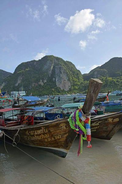 Thailand Koh Phiphi Sun Boats