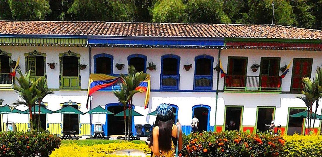 Colombia Parquedelcafe Color Portrait
