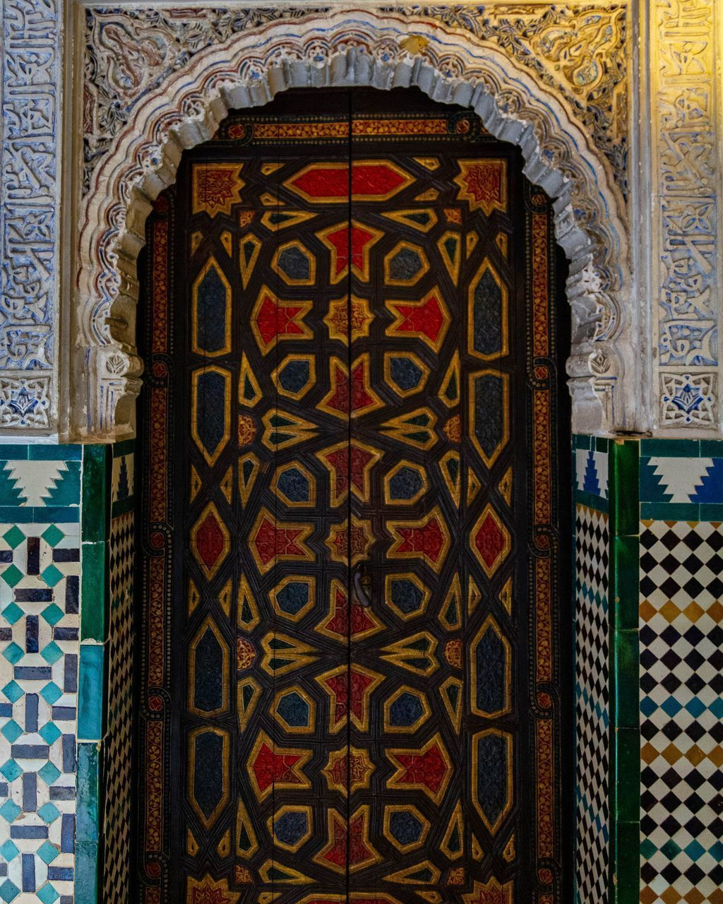 architecture, design, pattern, built structure, multi colored, ornate, art and craft, building, no people, indoors, day, entrance, close-up, wall - building feature, door, craft, creativity, decoration, religion, glass, floral pattern, architectural column, mural