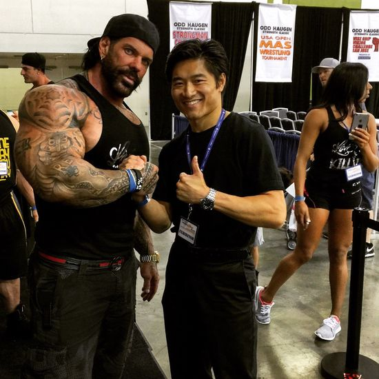 Bodybuilding Fit Pro Expo San Jose, Ca Fitness @1dayumay @vwc316 hanging with my buddy Rich Piana at the expo. 5%ers for life!
