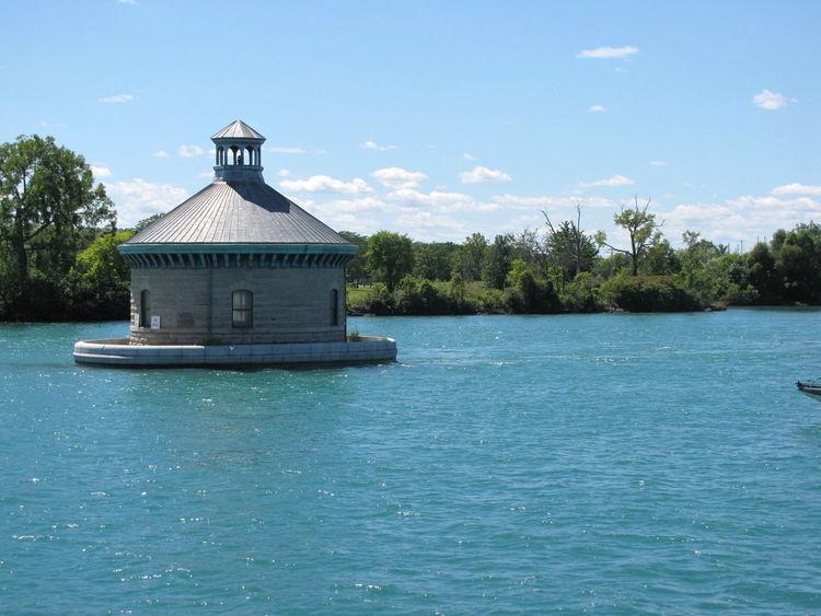 Detroit River Water Intake