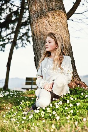 Girl Spring Springtime Flower Blond Hair One Girl Only People Beautiful People Teen Teenager Teenage Girls Lifestyle Lifestyles Long Hair Enjoying Life Real People Tree Sitting Sitting Outside Sitting In The Sun EyeEmNewHere Resist Art Is Everywhere Long Goodbye The Portraitist - 2017 EyeEm Awards Live For The Story The Street Photographer - 2017 EyeEm Awards BYOPaper! Breathing Space Be. Ready.