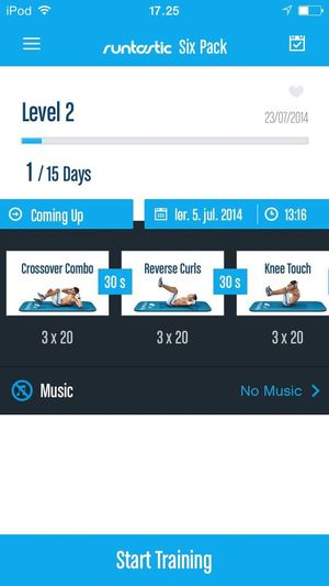Runtastic Abs And Muscles Enjoying Life Relaxing