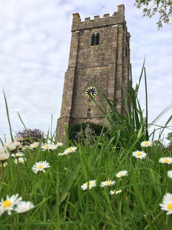 Okehampton Churches Church Dassie Flowers Devon Walking Around Hello World