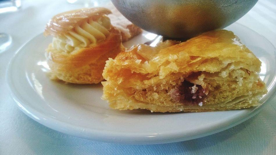 Naughty treats Hotel Breakfast Americano Coffee Danish Pastry Dried Apricots Healthy Struggle Visual Feast Visual Feast