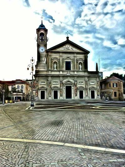 Saronno Digital Painting Saronno