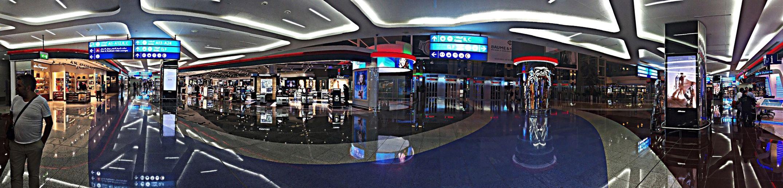 DubaiMall Dubai Dutyfreeshop Panorama