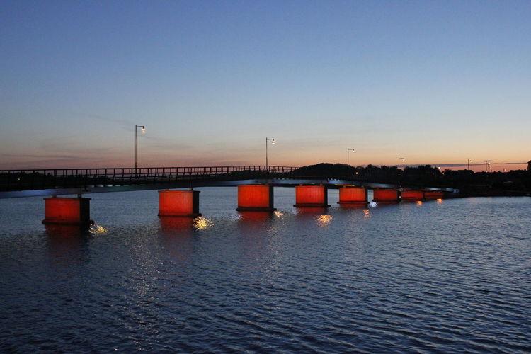 Red bridge...