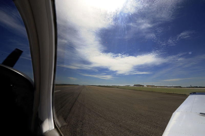 Air Aircraft On Runway Airport Pilot Piper Runway Sky Wing