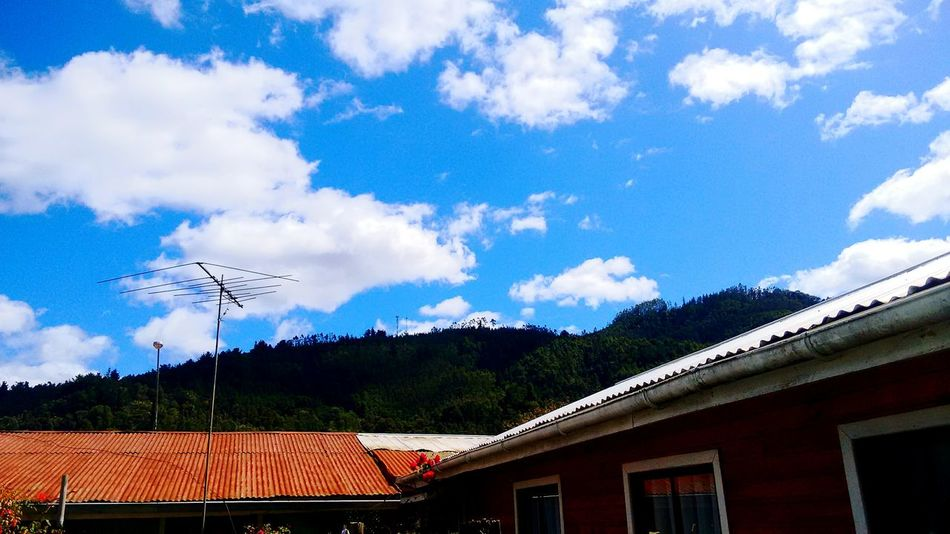 Chile Chile♥ Contulmo South America South Austral Sky Landscape Clouds Clouds And Sky Cloudscape Clouds & Sky Summer Cordillera De Nahuelbuta Light And Shadow Perspective Town Little Town