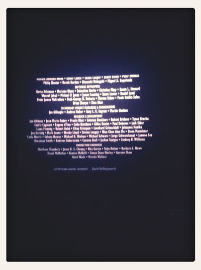 We Apparently Stay Through The Credits #thehobbit