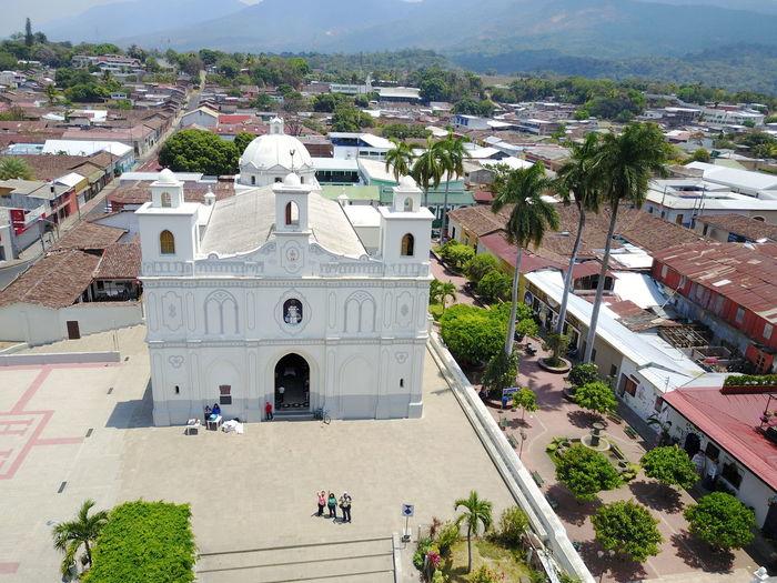 Catedral de Ahuachapan, El Salvador, imagen captada con Drone DJI Mavic Pro Ahuachapan  Catedrales City Tour El Salvador Impresionante El Salvador To Paseo Concordia Tourism Tourist Destination