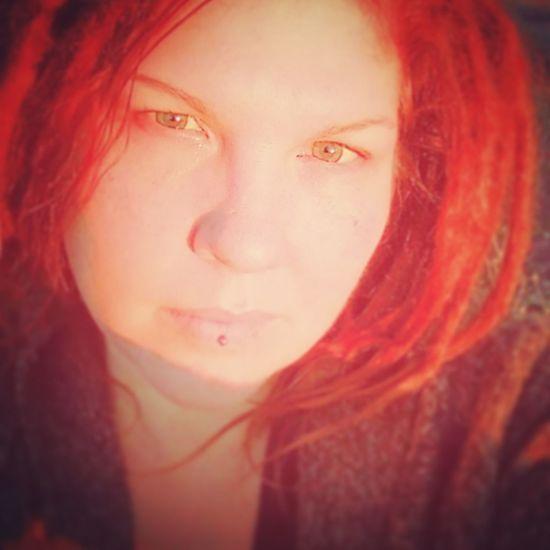 Beautiful Woman Dreadlock Girl Red Beauty Close-up Beauty In Nature