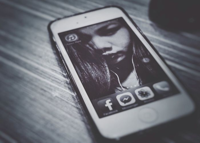 Technology iphone Mobile Phone Blackandwhite simplicity Oldsome