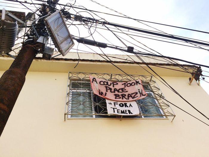 fora temer Riodejaneiro Rio De Janeiro Eyeem Fotos Collection⛵ Rio De Janeiro Santateresa Coup Temer Foratemer