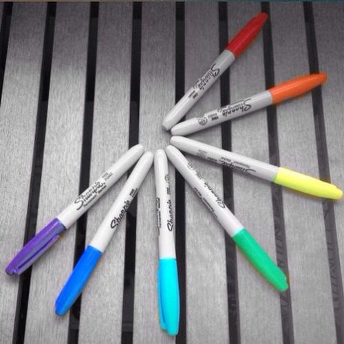 Sharpies  Rainbow