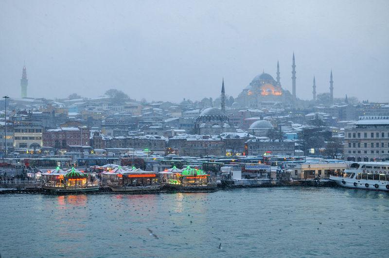 Istanbul under snow