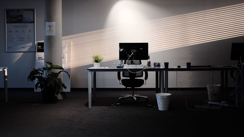 EyeEm Selects Indoors  Table Desk Chair Office Chair No People Illuminated Office Technology Architecture Day