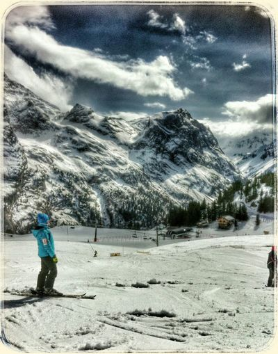 My Favorite Place Alpes Mountain Montagne Hdr_Collection Hiver Wintertime Ski☀️ ❄⛄❄