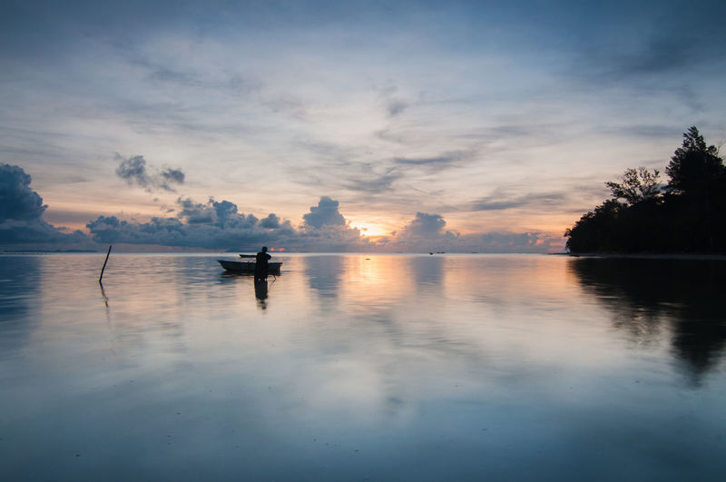 Tips of borneo during sunrise Kudat Beauty In Nature Day Daylight Nature Outdoors Sabah Scenics Sky Sunrise Tips Of Borneo Water