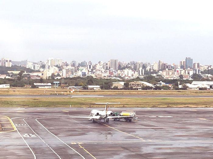 Poa Salgado Filho Porto Alegre Rio Grande Do Sul  Airplane Airport Aeroporto