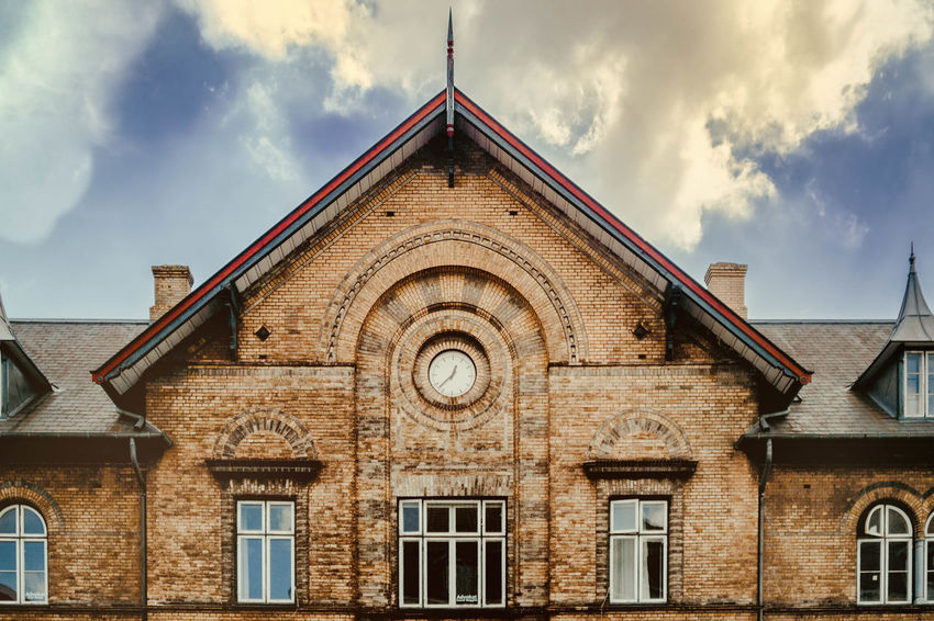 Architecture Building Building Exterior Built Structure Cloud - Sky Day Entrance Façade History House Low Angle View Nature No People Old Outdoors Residential District Sky The Past Window Wood - Material