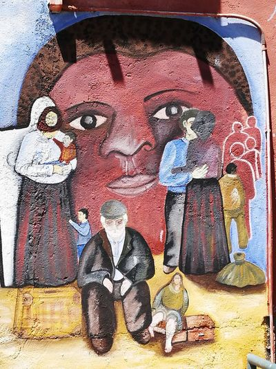 Migrants Migrantes Orgosolo Murales