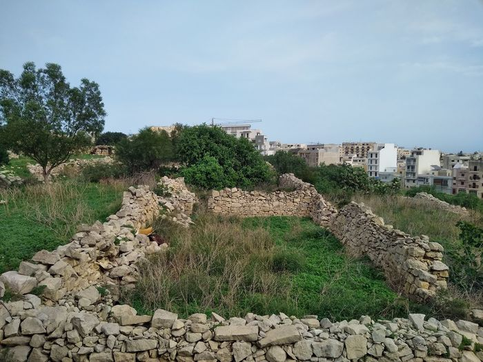 Is-Swatar Malta Msida Swatar Verlassene Orte Wall Abonded Abonded Buildings Abonded Places Architecture Freewall Stone Stonewall Verlassen Wall - Building Feature