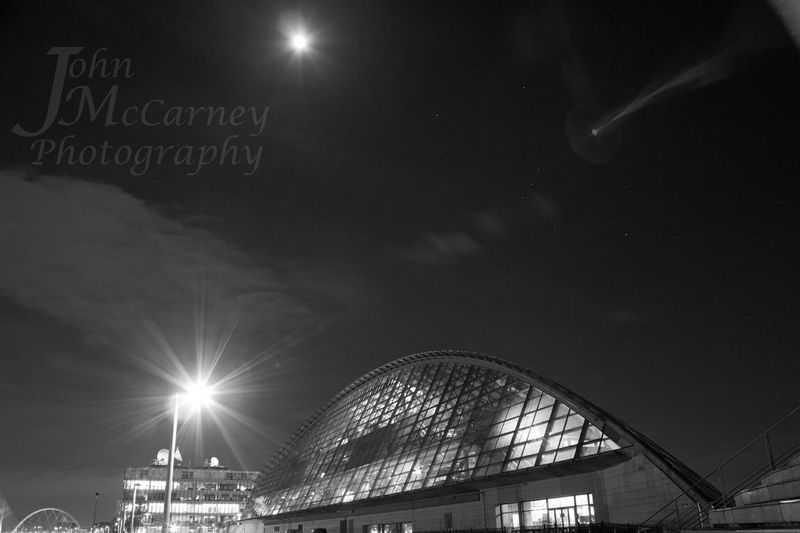 Glasgow Science Centre  Black And White Photography