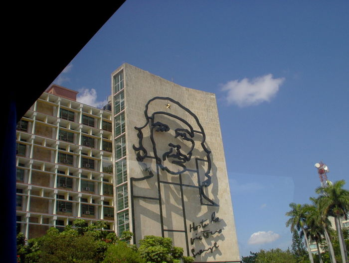 Architecture Building Exterior Built Structure Che Guevara Che Guevara Memorial Cuba Day Low Angle View No People Outdoors Sky