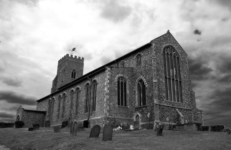 Salthouse Church, Norfolk Norfolk Chuches Architecture Black And White