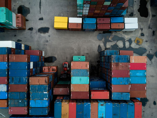 Arrangement Box - Container Business Cargo Container Container Container Day Distribution Warehouse Dronephotography Droneshot Freight Transportation Hamburg Handstand  Indoors  Industry Large Group Of Objects Multi Colored Shipping  Stack Warehouse The Creative - 2018 EyeEm Awards