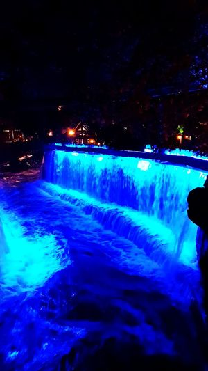 💙💙💙 Water Waterfall Night Blue Cold Temperature Halloween🎃 Beautiful Day Halloween EyeEm Halloween Night Halloween Decorations Europapark Halloween_Collection Europapark Rust Halloween Blue Water Blue Color Water_collection Waterfall_collection Bluewater