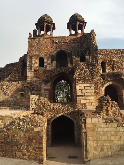 The Mesmerizing Architecture of Olden Days! EyeEmSelect Purana Quila oOld Delhi oOld Buildings oOld Ruin fFort hHistory aArchitecture lLow Angle View tTravel Destinations tTourism TTourist Attraction  CCheck This Out tThis Week On Eyeem pPackyourthingsandtravel EyeEm Best Shots Getty Images
