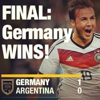 Congrats German !!!