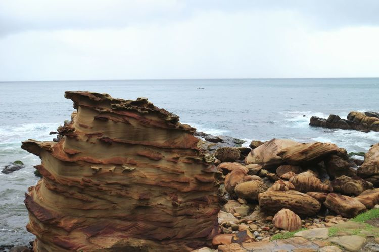 Jagged Rock @Taiwan Beauty In Nature