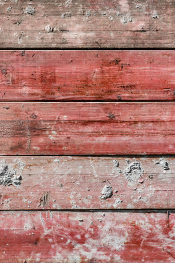 Architecture Backgrounds Brown Close-up Day Dirt Dirty Full Frame In A Row No People Old Outdoors Pattern Plank Red Textured  Textured Effect Wall - Building Feature Weathered Wood Wood - Material Wood Grain