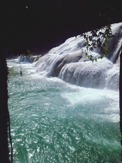 There's art in nature Cascade Nature Collection Mexico Chiapas