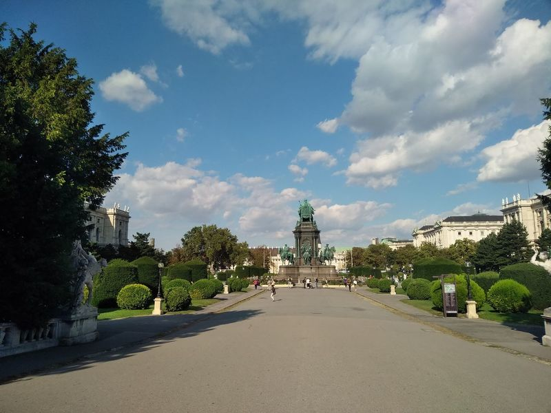 Cloud - Sky Architecture History Travel Destinations Statue Sky Maria Theresia Maria Theresien Platz Museum Ringstrasse Vienna