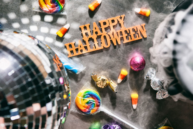 Series of spooky Halloween themed images, good for backgrounds or advertisements. HALLOWEEN CANDY Halloween Holiday Trick Or Treat Trick Or Treating Background Candy Candy Corn Copyspace Disco Ball Eerie Halloween Background Halloween Time Mirror Ball Mirrored Ball Party Spooky Sweet